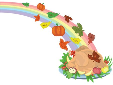 Thanksgiving day,turkey Stock Vector - 10608951
