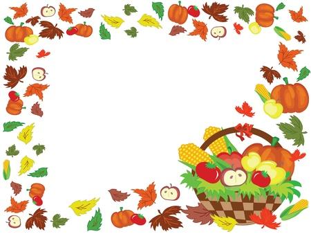 Thanksgiving day,frame