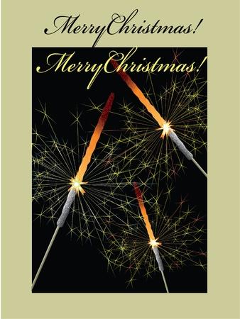 dark olive: Christmas background,vector  Illustration