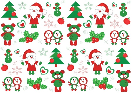 Christmas background Stock Vector - 11235716