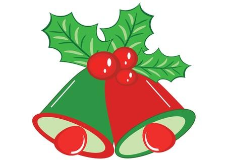 jingle: Christmas bells Illustration