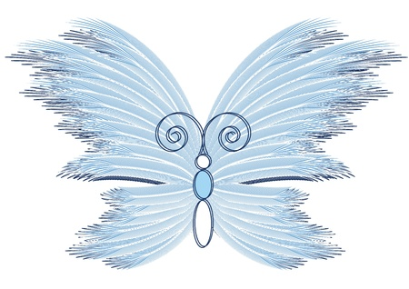 Abstract butterfly Stock Vector - 11383053