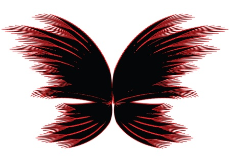 tattoo butterfly: Abstract butterfly