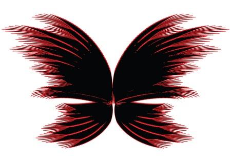 butterfly abstract: Resumen de la mariposa