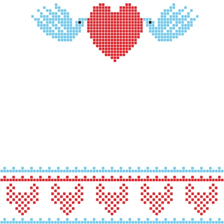 dating strategy: The scheme for embroidery