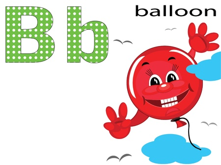 Children alphabet , B.  Vector