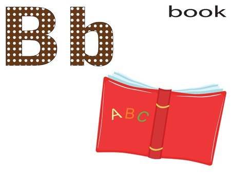 Children alphabet , B. Vector
