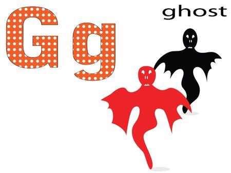 Children alphabet,G Vector