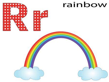 Children alphabet,R Stock Vector - 11654865