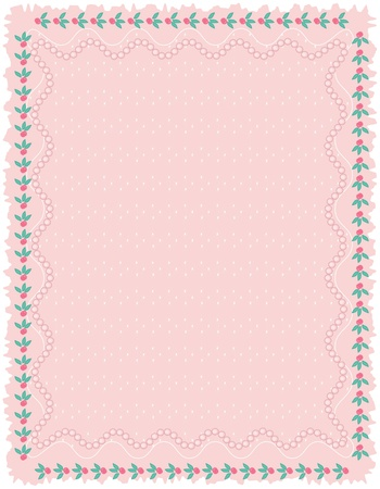 Pink background, vector  Stock Vector - 13287675