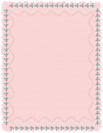 Pink background, vector Stock Vector - 13287675