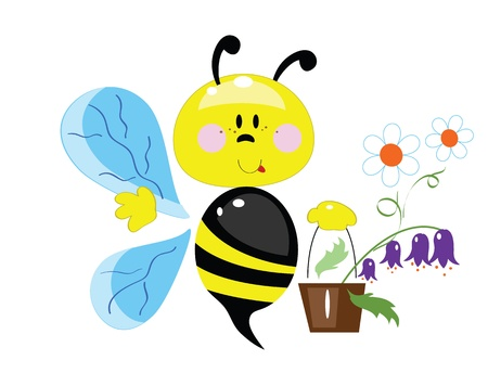 Bee Stock Vector - 13377226
