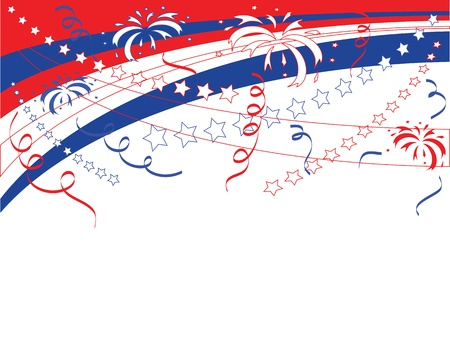 Independence Day,  vector background