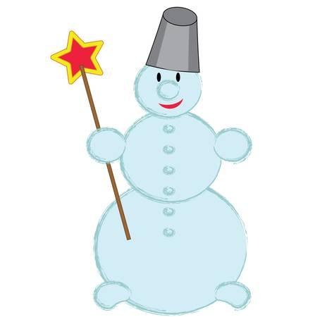 Snowman  Stock Vector - 16974119