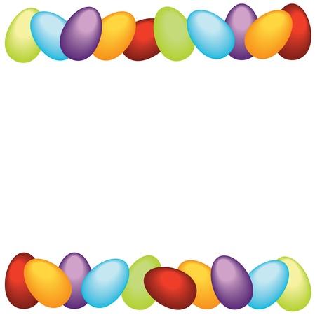 marcos decorados: Pascua marco