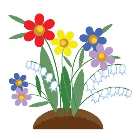 indoor bud: Flowers Illustration
