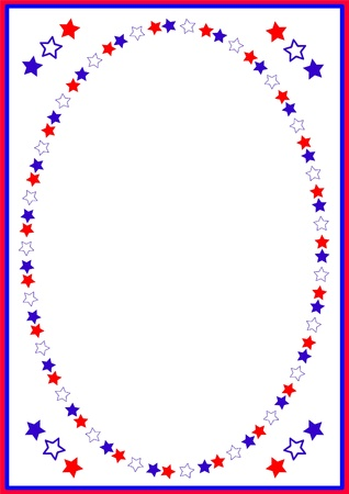 Independence day , frame Vector
