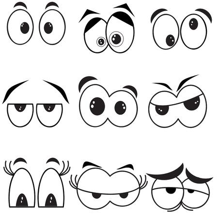 look at: Eyes  , set
