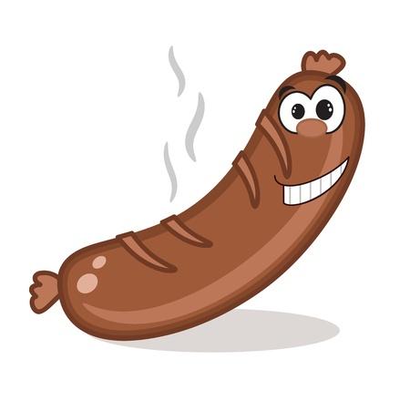 bratwurst: Hot sausage