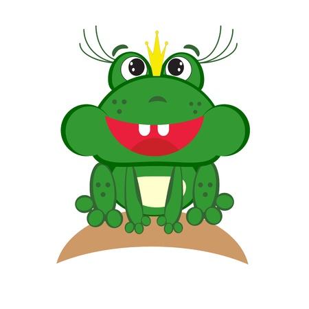 Frog princes Vector