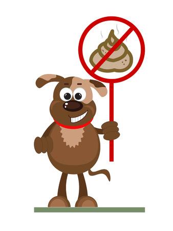 poo: Stop Poop Sign