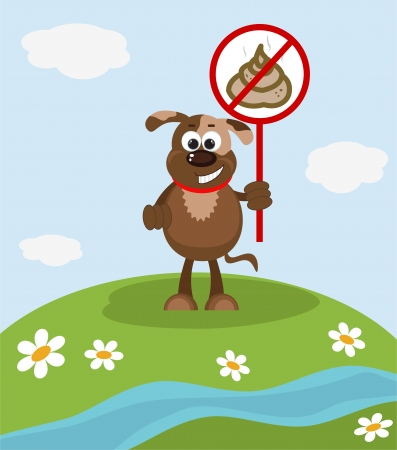 basura organica: Detener Poop Entrar