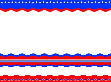 patriotic border: American patriotic background