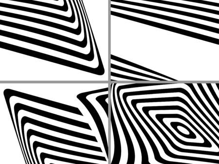 Striped black- white  backgrounds