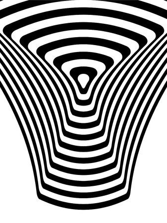 Striped black- white  background Vettoriali