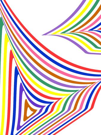Striped colorful background  Vettoriali