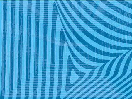 Striped blue background