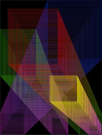 abstrakt: Abstrakt background. Illustration