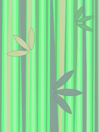 japones bambu: Fondo con ca�as de bamb� Vectores
