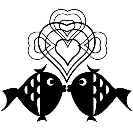 Decor with fish