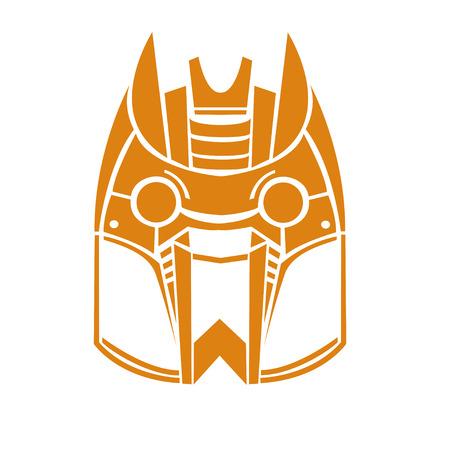 robot face: face of robot