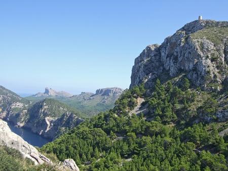 Formentor - Mallorca - with Pirates tower Talaia d Albercutx