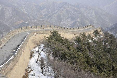 badaling: Great Wall Badaling Beijing Stock Photo