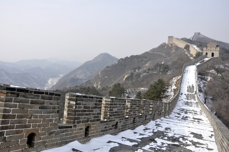 The Great Wall at Badaling near Beijing, China Stock Photo - 8139941