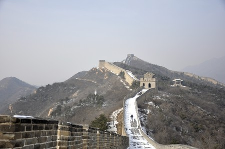 The Great Wall at Badaling near Beijing, China photo