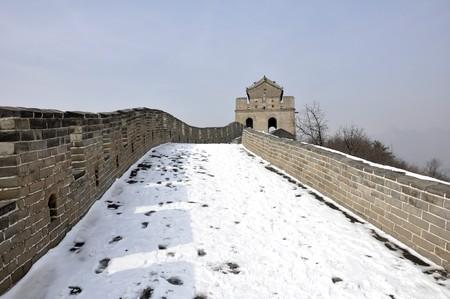 The Great Wall at Badaling near Beijing, China Stock Photo - 8139886