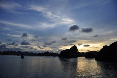 Fantastic view of the Halong Bay
