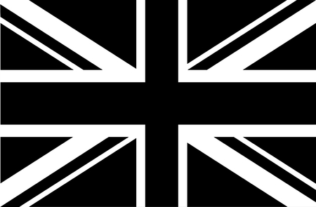 black flag: Union Jack