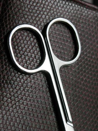 hair clippers: Small Scissor finger holds
