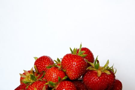 Group of strawberries Stock Photo - 14191686