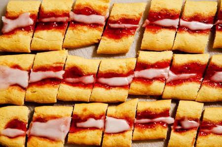 Currant jam cookies Stock Photo - 16795786
