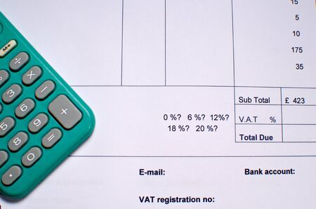 Billing VAT Stock Photo - 16899005