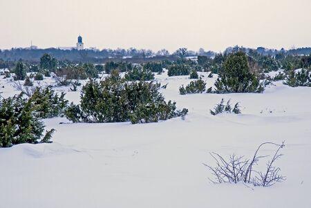 Church in winterlandscape Stock Photo - 17275173
