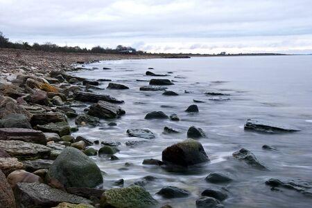 November coast Stock Photo - 17275254