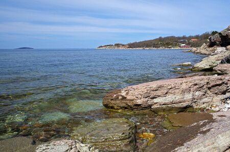 Rocky bay Stock Photo - 17442717