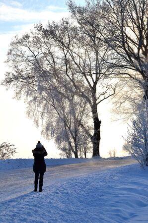 Shooting winter view Stock Photo - 17443181